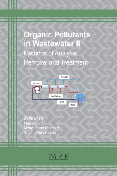 Organic Pollutants in Wastewater II
