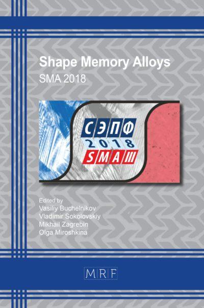 Memory Shape Materials 2018