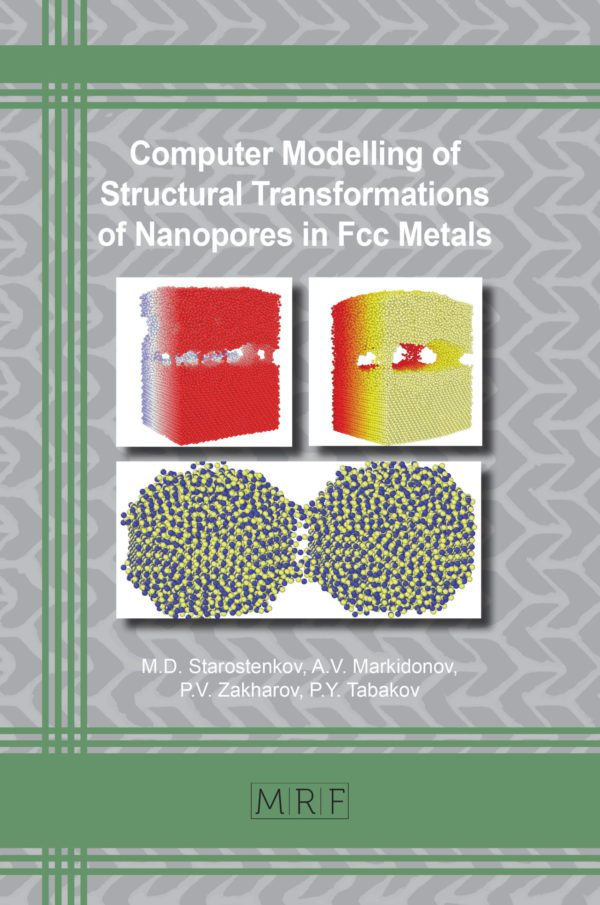 Structural Transformations of Nanopores in Fcc Metals