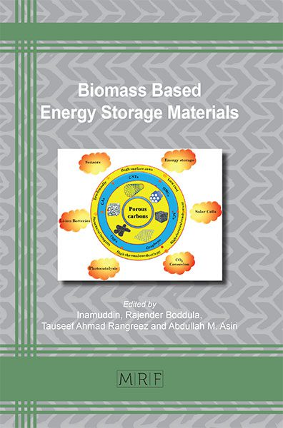 Biomass Based Energy Storage Materials