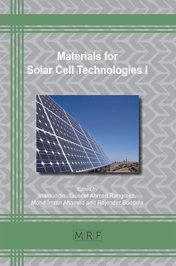 Materials for Solar Cells